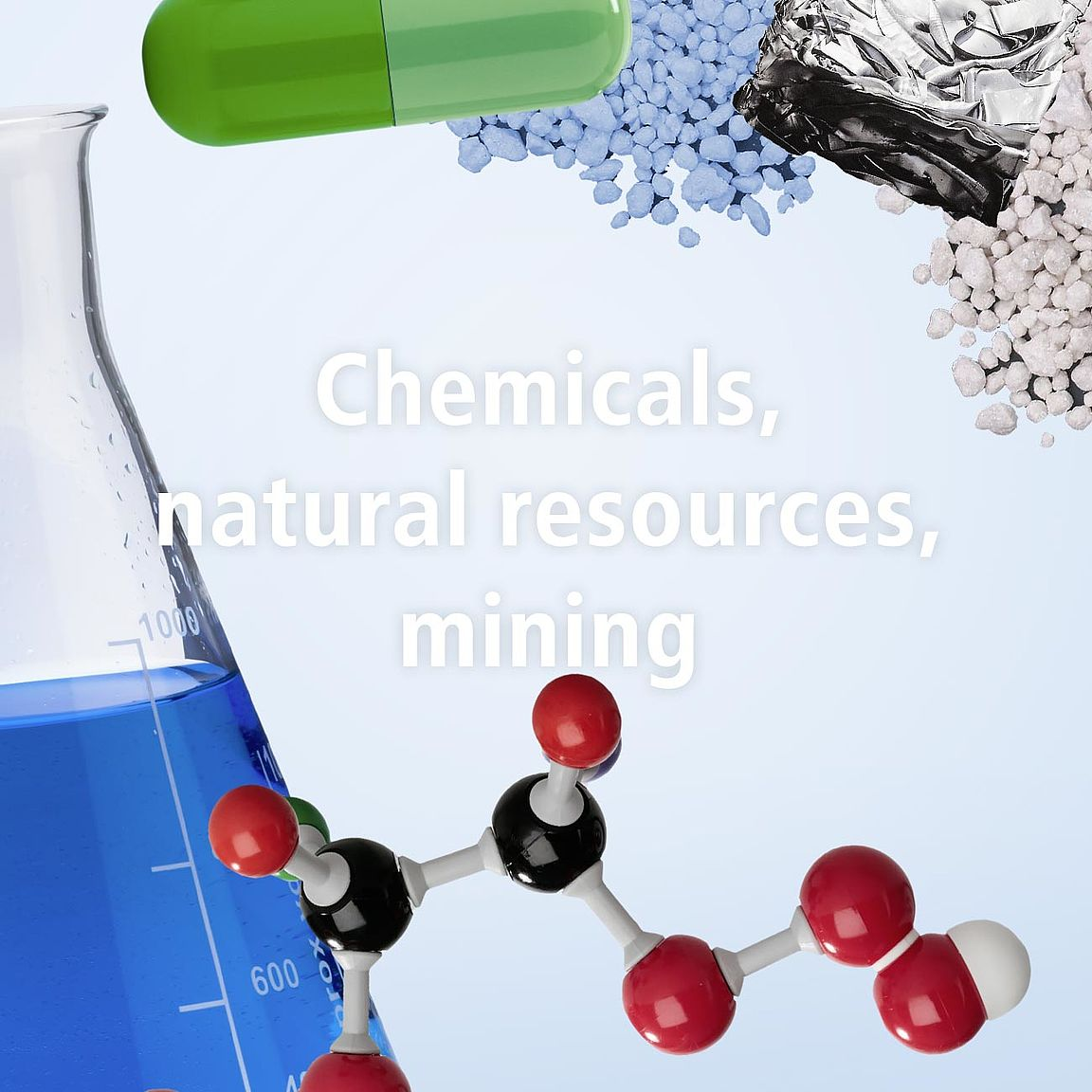 Chemicals, natural resources, mining